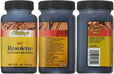 Fiebing's Acrylic Resolene Leather Finish Protectant - 4 Ounces 4 oz, Black