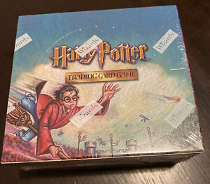 Harry Potter Quidditch Cup Booster Box Wizards of the Coast WOTC 2001 Sealed