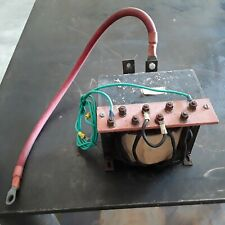 multi tap 12volt single phase ac transformer 200amp nominal amps