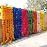 Garlands Vine Wedding Indian Event Decoration Artificial Flower Strings Mehndi