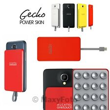 ALCATEL POWER BANK CARICA BATTERIA EMERGENZA ORIGINALE GECKO PB40 RED 000251A