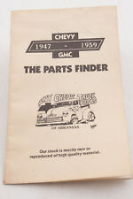 Chevy Chevrolet 1947 to 1959 Parts Catalog July 1983 (F4R-49) Trucks Pamplet