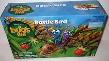 Disney Pixar A Bugs Life BATTLE BIRD Vehicle Playset Mattel 1998 MIB SEALED