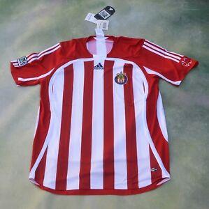 Adidas MLS Chivas USA Soccer Jersey Size L.