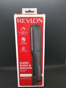 Revlon Flat Iron Hair Straightener 1 1/2 inch Plate New 761318021810 new in box