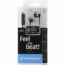SENNHEISER EARPHONES MM30i FOR iPHONE, iPAD, iPOD WITH FULL APPLE REMOTE CONTROL