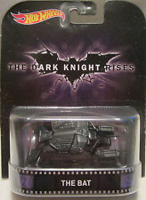 "The Bat Vehicle ""The Dark Knight Rises"" Hot Wheels 2015 Retro Series 1/64 Die..."