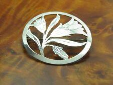 835 Silver Brooch/Handmade/Real Silver / 4,8g