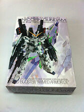 Gundam 1/100 MG Unicorn Armed Armor De Shield Booster Model Kit Hobbies (Green)