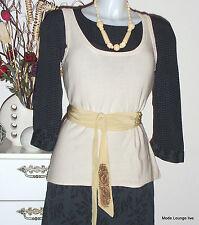 NOA NOA Top RARE KNIT- paper creme M - 38, NEU blouse shirt cream beige