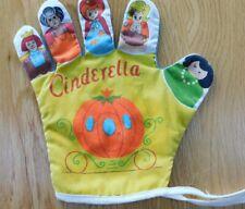 Vintage Disney CINDERELLA Finger Hand Glove Story PUPPET Toy