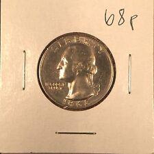 1968 P Washington Quarter Gem BU original