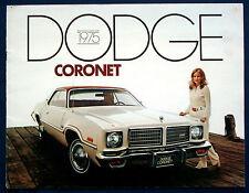 PROSPEKT BROCHURE 1975 Dodge Coronet (USA)