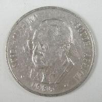 South Africa 1 Rand Coin, 1985, Viljoen