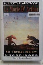 Le Morte D'Arthur by Sir Thomas Malory: Unabridged Cassette Audiobook (RR5)
