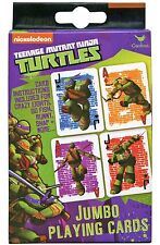 Teenage Mutant Ninja Turtles Jumbo Playing Cards New