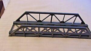 HO Scale Life-Like Warren Truss Bridge Gray Vintage,