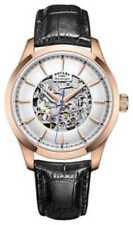 Relojes de pulsera Rotary oro de cuero