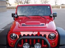 2x PIAA 510 Driving Lights for Jeep Wrangler Windshield Pillar Mirror Side Mount