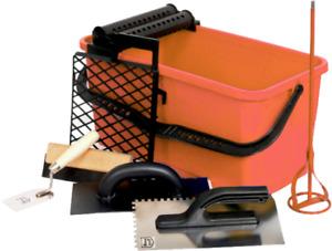 Washboy - Tiling Tools 20 Litre Washboy Tiler Set Includes Various Tiling Tools