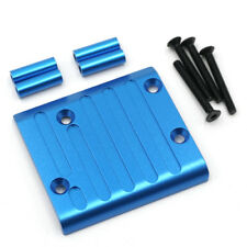 YR Blue Alloy Rear Axle Protector Skid Plate For Tamiya CC01 Jeep Pajero