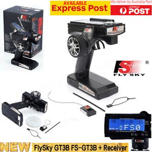 FLYSKY FS-GT3B Digital 2.4GHZ 3CH LCD Transmitter GR3E Receiver for RC Car Boat