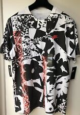 """Nike NSW Abstract Floral Men's T-Shirt BQ0118-100 Size M Chest 41"""" New"""