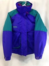 VTG Columbia Powder Keg 3-In-1 Ski Parka Coat Jacket Womens Medium Purple Pink