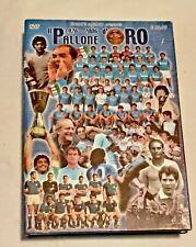 DVD IL PALLONE D'ORO 1926 - 2006 DVD E LIBRO 80 ANNI DI STORIA MARADONA NAPOLI