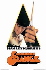 CLOCKWORK ORANGE - KNIFE MOVIE POSTER - 24x36 - KUBRICK 241389