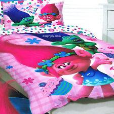 Trolls - Best Troll Friends - Double/US Full Bed Quilt Doona Duvet Cover set