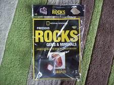 National Geographic Precious Rocks Gems & Minerals Magazine Issue 13 Red Jasper