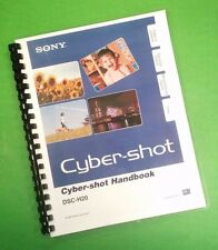 Sony DSC H20 Camera 149 Page Laser Printed Owners Manual Guide
