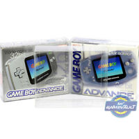 1 x Box Protector for Game Boy Advance Console STRONG 0.5mm PET Display Case