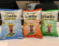 Crispy crickets edible insect Tom Yum herbal flavour high Protein Thai snack 20g