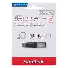 Sandisk iXpand Mini 16/32/64/128/256GB Flash Drive USB 3.0 For iPhone, iPad-UK