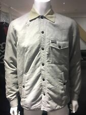 BNWT Mens Diesel Overshirt Jacket Quilted Grey Slim Fit Jacket Large RRP £139.99