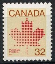 Canada 1981 SG # 1032ba, 32 quater Maple Leaf MNH p12x12.5 #D 7058