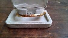 Bel bracciale oro 750. Vintage, Snodabile. Peso 15 gr