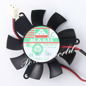 MGA5012XR-A10 45mm VGA Video Card Fan Replacement 39mm 2Pin DC 12V 0.19A R02c