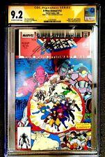 X-MEN ANNUAL #12 CGC 9.2 NM- *SIGNED CHRIS CLAREMONT*- ART ADAMS ART!!!