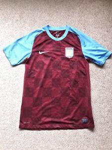 Aston Villa Top - Football Shirt (T Shirt) Adult Small