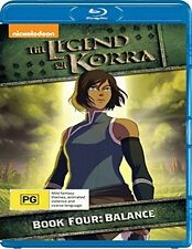 THE LEGEND OF KORRA :BOOK FOUR 4 -BALANCE   -  Blu Ray - Sealed Region B