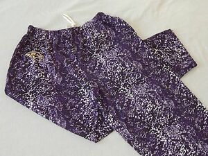 NEW Baltimore Ravens Camo Snake Print NFL Football Lounge Pants Pajamas Mens M L