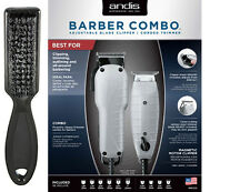 Andis Barber Combo Envy Adjustable Blade Clipper & T-Outliner Trimmer 66325 -NEW