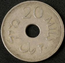 Palestine 20 Mils 1927 (F1601)