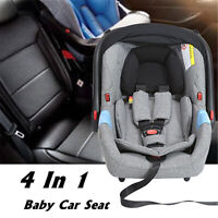 4 In1 Portable Baby Newborn Boy Girl Toddler Infant Safety Car Cradle Seat