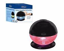 Silentnight Colour Changing Air Purifier 14 W Gloss Black 650ml Capacity