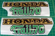 CT70 K2 K3 K4 Trail 70 vintage 8pc frame decals SET stickers graphics FREE SHIP