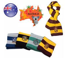 Harry Potter Hogwarts Gryffindor Slytherin Striped Knit Scarf Costume Accessory